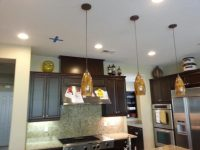 Pendent lights done by Butch B Electric
